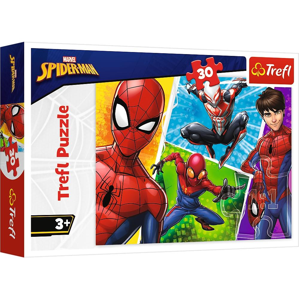 Puzzle 30: Spider-man i Miguel (18242)