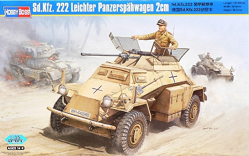 HOBBY BOSS Sd.Kfz.222 Leichter (82442)