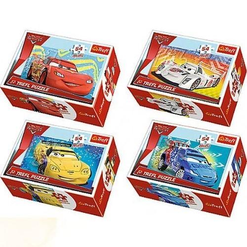 Puzzle mini 54: Auta Przed wyścigiem (19542)