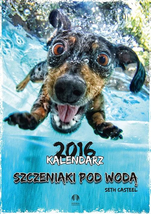 Kalendarz 2016 Szczeniaki pod wodą