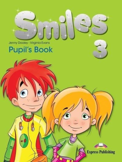 Smiles 3 PB edycja międzynar. EXPRESS PUBLISHING Jenny Dooley, Virginia Evans