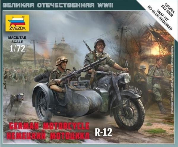 ZVEZDA German Motorcycle R-12
