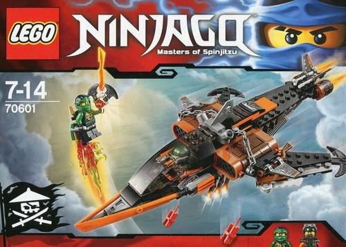 Lego Ninjago: Podniebny rekin (70601)