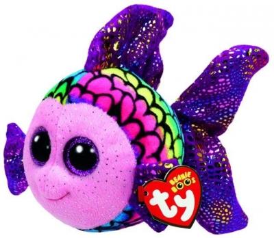 Maskotka Beanie Boos: Flippy - Wielobarwna Ryba 15 cm (37242)