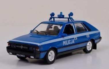 Kolekcja PRL-u Polonez Milicja
