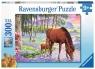 Puzzle XXL 300: Konie O Zachodzie Słońca (13242) Wiek: 9+