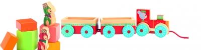 Zabawka wczesnorozwojowa Junzo pociąg (DJ06442)