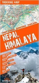 Himalaje nepalskie mapa