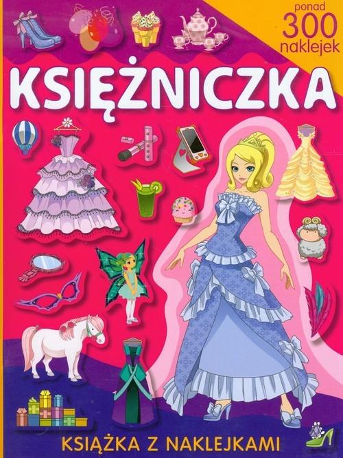 Księżniczka książka z naklejkami May Klaudia