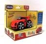 Autko Mini turbo touch redy- czerwony