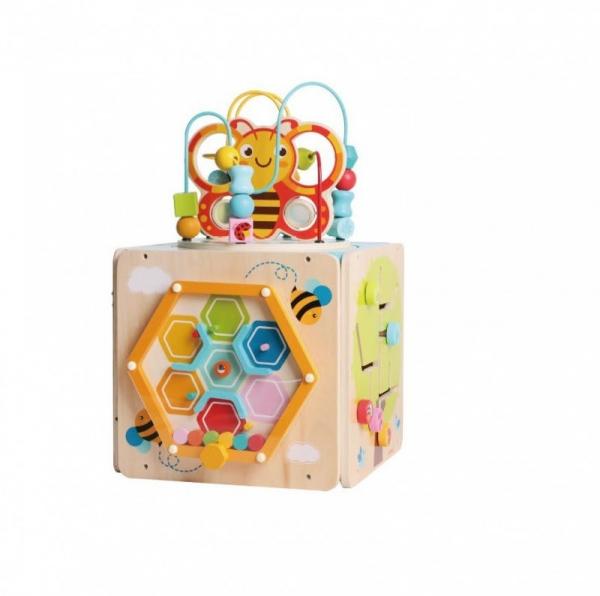 Centrum zabawy przeplatanka kostka Pszczółka (11022)