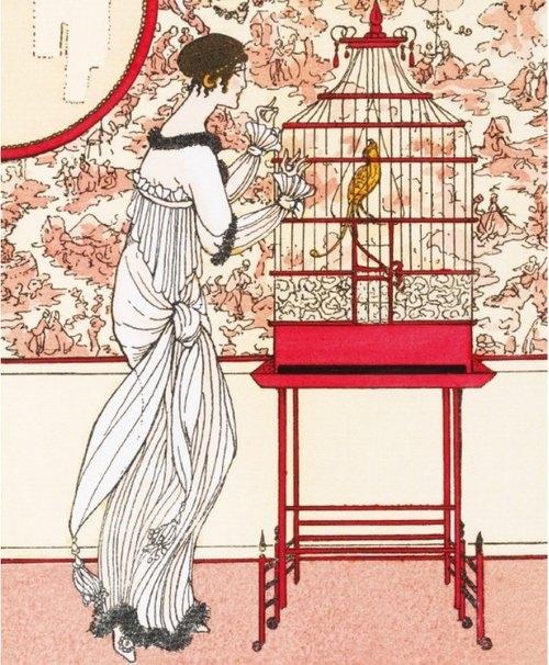 Karnet 17x14cm z kopertą Ah! Le Bel Oiseau!