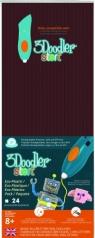 3Doodler wkład jednokolorowy Brązowy