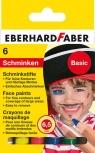 Kredki do malowania twarzy 6 kolorów Basic Eberhard Faber