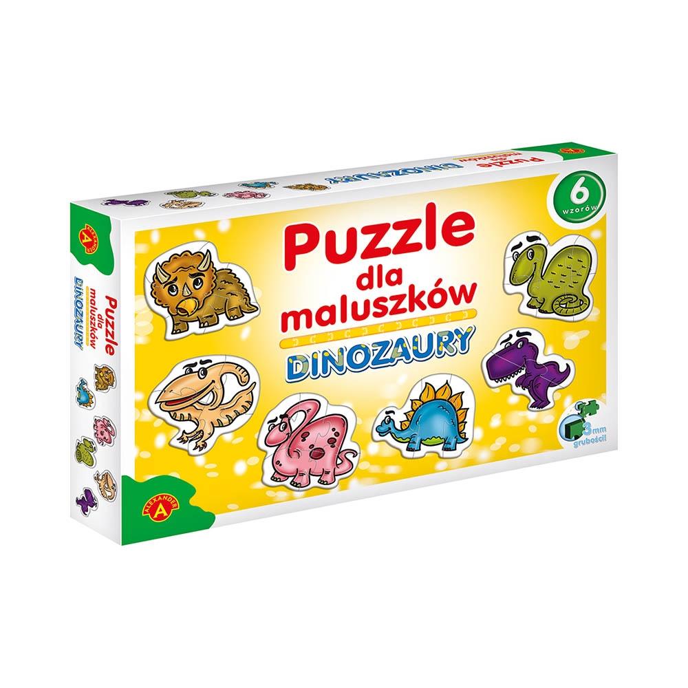 Puzzle dla maluszków: Dinozaury (0542)