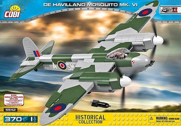 Cobi: Mała Armia WWII. De Havilland Mosquito (5542)