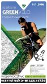 Green Velo mapa rowerowa Woj.warmińsko-mazurskie.część zachodnia