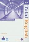 New Total English Upper-Intermedia Workbook z płytą CD Foley Mark