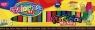 Plastelina kwadratowa Colorino mix 18 kolorów (57424PTR)