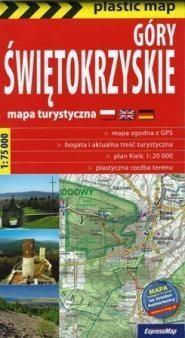 Plastic map Góry Świętokrzyskie 1:75 000 w.2015