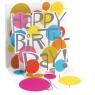 Kartki 3D Little Birthday Words
