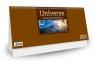 Kalendarz 2021 Biurkowy Universe - brązowy CRUX praca zbiorowa