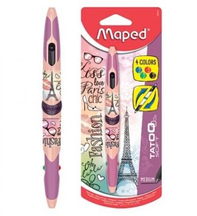 Długopis dwustronny Twin Tip 4 kolory paris MAPED