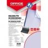 Okładki do bindowania Office Products A4 PVC 100 sztuk niebieska/transparentna