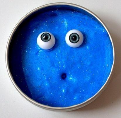 Potworek Sprytna Plastelina - Niebieska