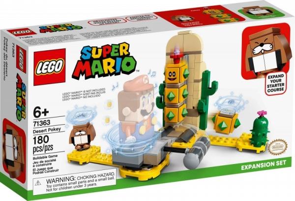 Klocki Super Mario Pustynny Pokey - zestaw rozszerzony (71363)