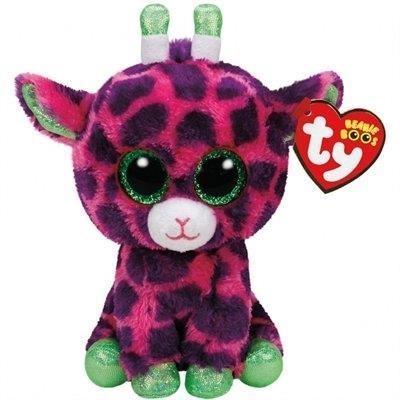 Maskotka Beanie Boos Gilbert - Różowa Żyrafa 24 cm (37142)