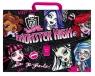 Teczka harmonijkowa z rączką Monster High