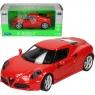 WELLY Alfa Romeo 4C, czerwony (WE24048)