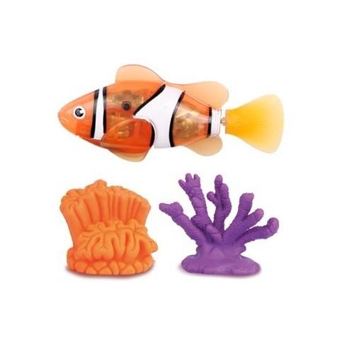 Robofish Rybka i 2 Koralowce pomarańczowa