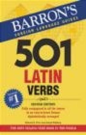 501 Latin Verbs 2e Joseph Wohlberg, Richard Prior
