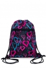 Coolpack - Vert - Worek Na Buty - Drawing Hearts (B70038)