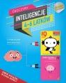 IQ Inteligencja logiczna i rozwój mózgu dla 4-6 latków z poradami psychologa. Książki z naklejkami.