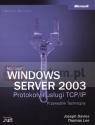 Microsoft Windows Server 2003 Protokoły i usługi TCP/IP Przewodnik Techniczny