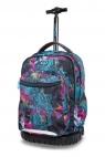 Coolpack - Swift - Plecak Młodzieżowy Na Kółkach - Vibrant Bloom (B04017)