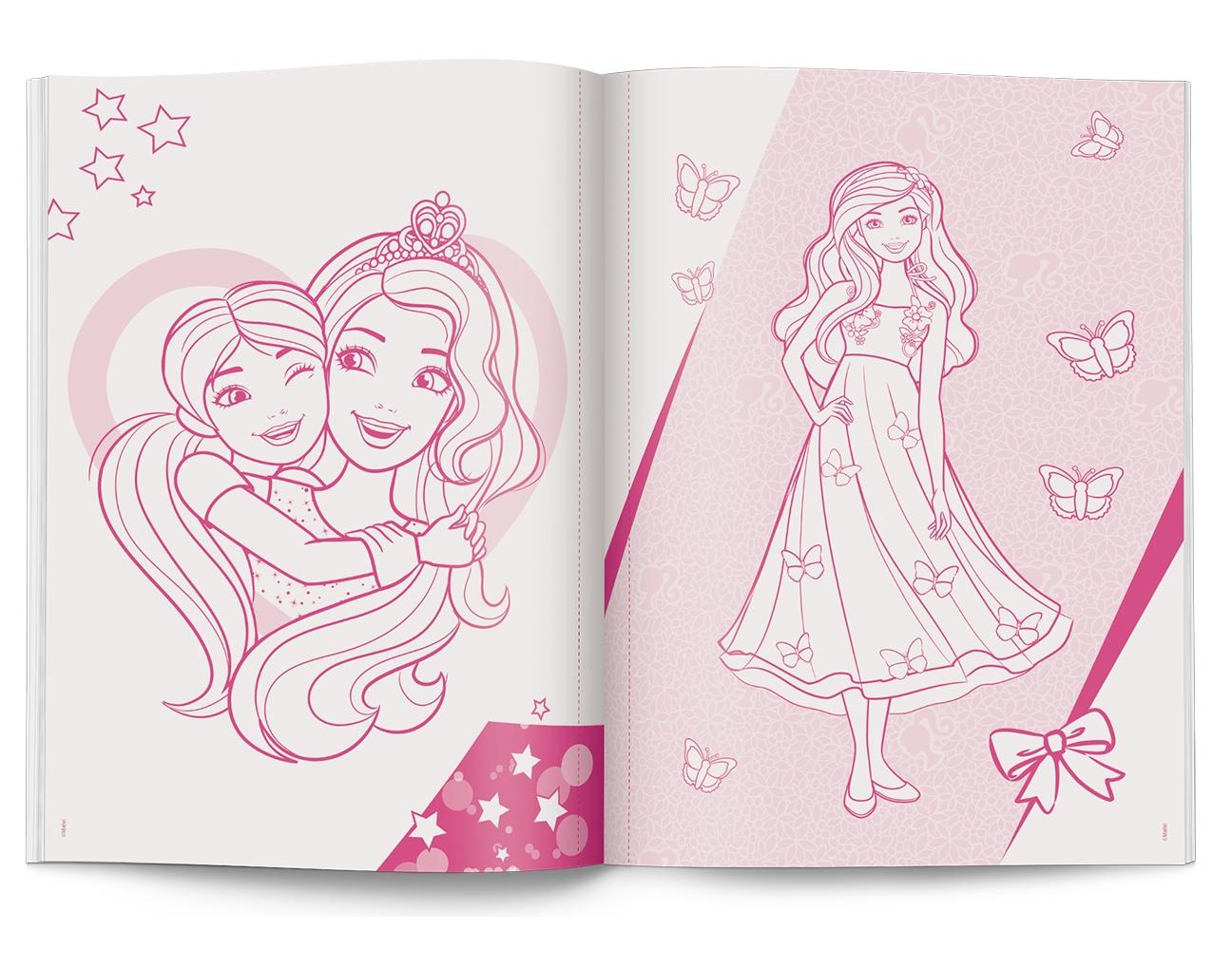 Barbie Dreamtopia. Megakolorowanka