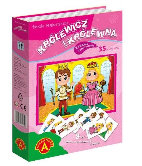 Puzzle magnetyczne 35: Królewicz i Królewna (1742)