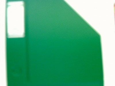 Pojemnik na dokumenty (czasopisma) Bantex A4 zielony (4010-15) .