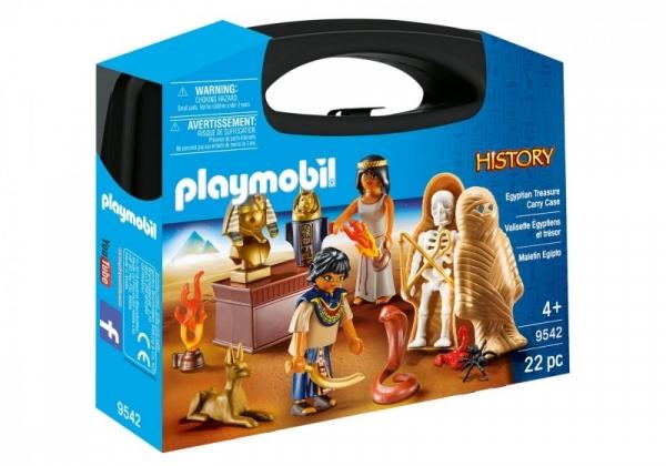 Playmobil History: Zestaw figurek Skrzyneczka Egipt (9542)