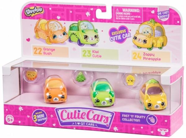 SHOPKINS CUTIE CARS 3-pak, Fast N Fruity (SCC56611B)