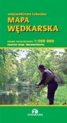 Mapa wędkarska województwo lubuskie 1:200 000 Czajka Witold