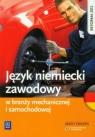 Język niemiecki zawodowy w branży mechanicznej i samochodowej Zeszyt Rochowski Piotr