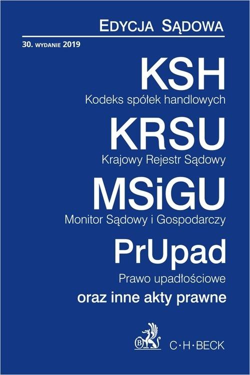 KSH KRSU MSiGU PrUpN Edycja Sądowa