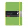 Notatnik my.book Flex A6/40k kratka - zielony (11361581)