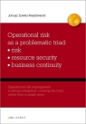 Operational risk as a problematic triad risk resiurce security business continuity