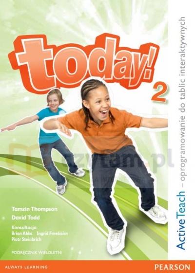 Today! 2 PL Teacher's eText  (IWB do wersji wieloletniej)